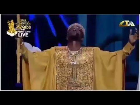 "TESTIMONY MR JAGA PERFORMANCE ""JESUS"" DURING LIMA 2019 WITH PASTOR CHRIS OYAKILOME PHD, DSC D"