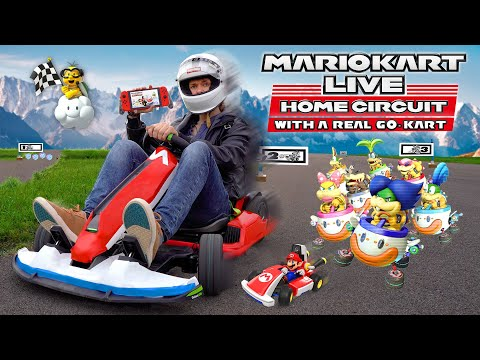 Mario Kart But With A $2000 Go-Kart!