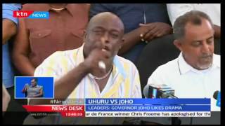 Jubilee leaders react to Uhuru,Joho drama at the Kenyan Coast