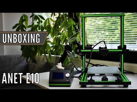 Anet E10 3D Drucker: Unboxing & Aufbau des Creality CR-10 Klons
