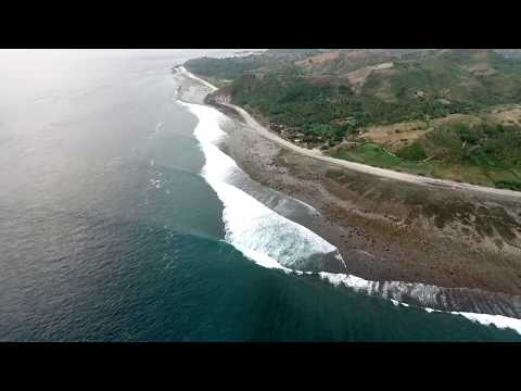 Drone Footage of Desert Point