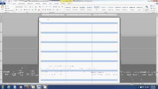 How to insert an image into a label template sheet in Word