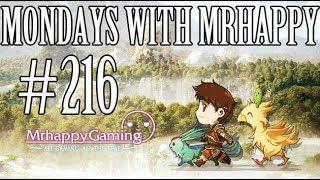 Mondays w Mrhappy #216 - Weekly Q&A