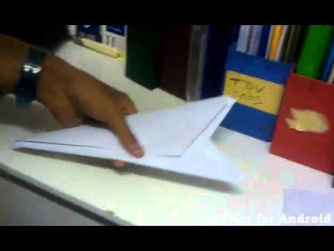 comment construire un kunai en papier