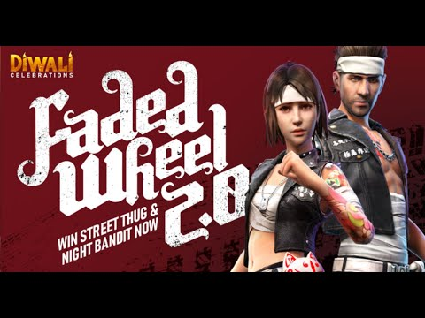 Faded Wheel 2.0 Event 2200 Diamonds Spin - Garena Free Fire- Total Gaming