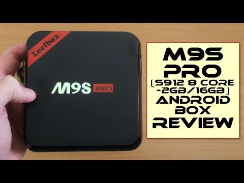Leelbox M9S PRO (S912 8 Core: 2GB/16GB) - Review