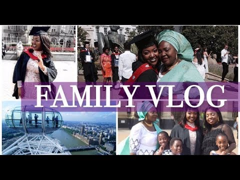 Meet my (Nigerian) Family + Graduation Vlog | UwaniVlogs #5 |