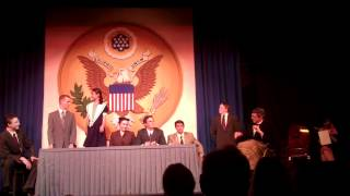 Annie - Tomorrow Reprise with Cabinet - YPTW 2012 - Cast A