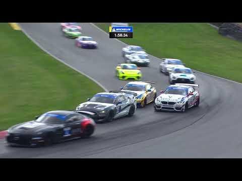 IMSA WTSCミド・オハイオ。120 レース1のフルレース動画