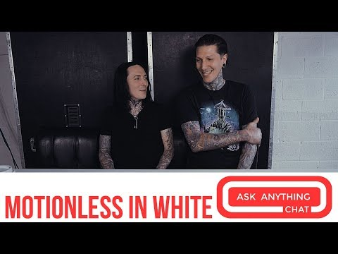 Motionless In White Talk Horror & New Album Disguise - AskAnythingChat