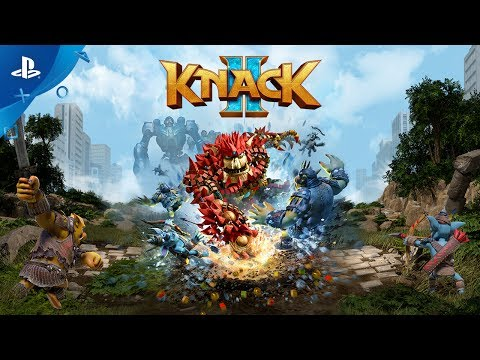 Knack 2 - PS4 Trailer | E3 2017 thumbnail