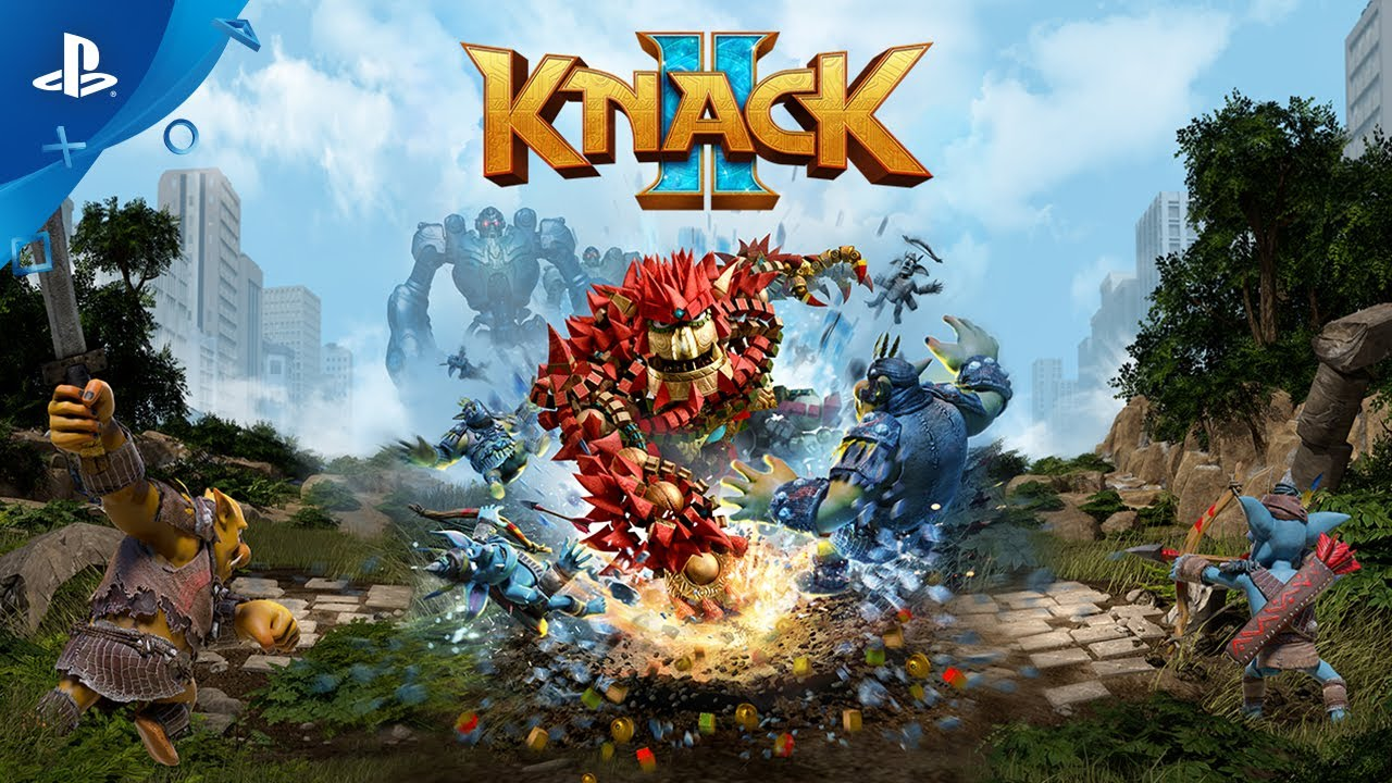 Knack 2 Hits PS4 September 5, New Trailer & Screens