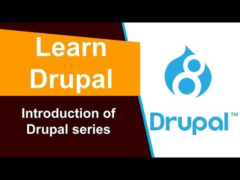Learn Drupal - Introduction - YouTube