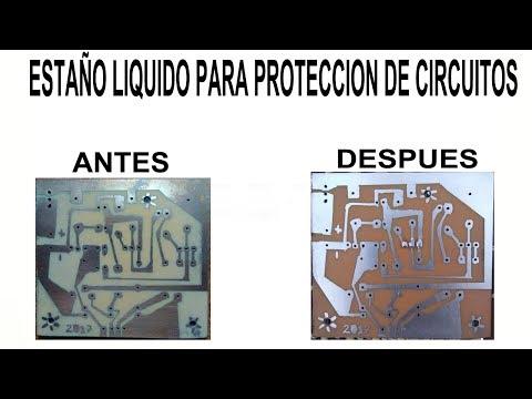 Estaño Liquido Para Proteger Circuitos Impresos (Estaño En Frío)