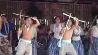 preview picture of video 'Guam's Hispanic Dances (4)  Spanish Paloteos dance...Chamorro Style'