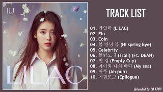 [Full Album] IU (아이유) - LILAC (5th Album)