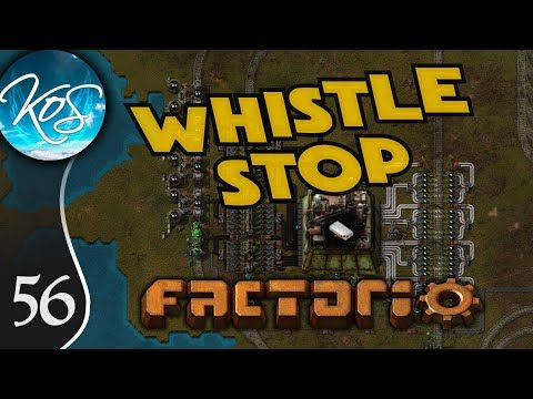Whistle Stop Factorio Ep 55: BIG FURNACE BEACONING - Mod Spotlight