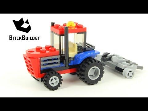Vidéo LEGO Creator 30284 : Le tracteur