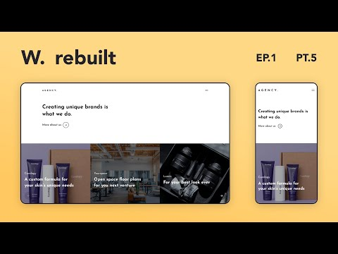 Awwwards Rebuilt Episode 1 | Rebuilding Awwwards Websites using React & GSAP | Part 5