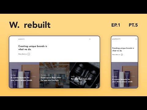 Awwwards Rebuilt Episode 1 | Rebuilding Awwwards Websites using React & GSAP | Part 5