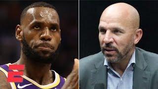 Jason Kidd talks about coaching LeBron James, Anthony Davis on the Lakers | NBA on ESPN