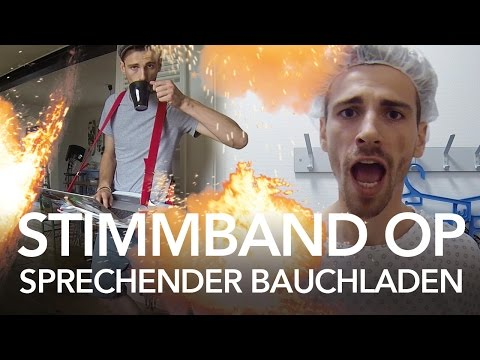 Stimmband OP / Sprechender Bauchladen Anleitung -Heimwerkerking Fynn Kliemann
