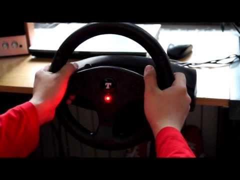 Видео № 0 из игры Руль Thrustmaster T100 Force Feedback Racing Wheel