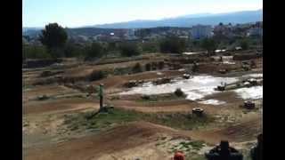 preview picture of video 'Quedada puch en el circuito de Yátova.'