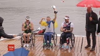 Паралімпієць Роман Полянський здобув 2 золоті медалі на чемпіонаті з академічного веслування