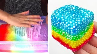 The Most Satisfying Slime ASMR Videos   Oddly Satisfying Slime 2019   102