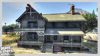 NEW ADDED HOUSE INTERIOR IMPROVEMENT (GTA 5 NEW MANSION MOD GAMEPLAY)