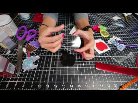 How to make an acrylic keychain using vinyl, acrylic keychain blank how to video