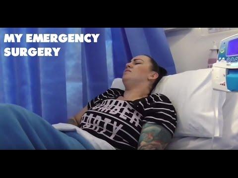 MY EMERGENCY SURGERY | BURST APPENDIX FLUID IN PEL