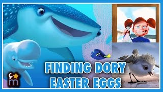 11 FINDING DORY Easter Eggs Revealed!!   The Lineup