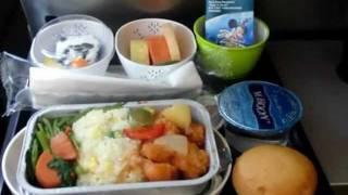 キャセイパシフィック航空・CX750便ホンコン行き・・・機内食