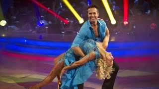 Michael Vaughan & Natalie Lowe Salsa to 'I Want You Back' - Strictly Come Dancing 2012 - BBC One