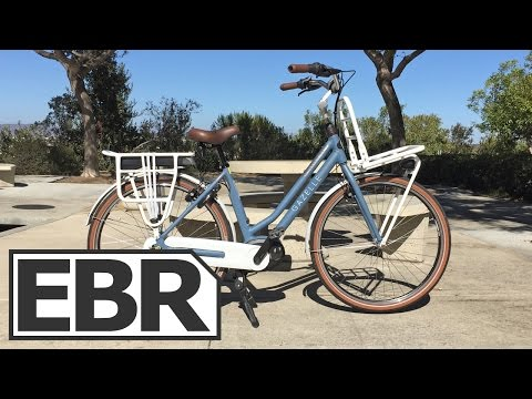 Gazelle NL C7 HMB Video Review – Beautiful, Well Made, Cruiser Electric Bike