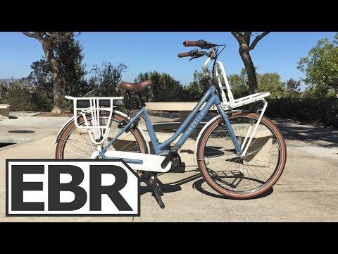 Gazelle NL C7 HMB Video Review – Beautiful, Well Made, Cruiser Electric Bike