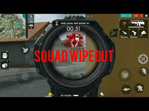 Ranked Solo Vs Squad Booyah Free Fire Battleground Gameplay