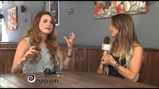 NZOWN - Juice TV Interview With Annabel Fay