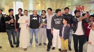 تقرير حول وصول شباب 228 للكويت