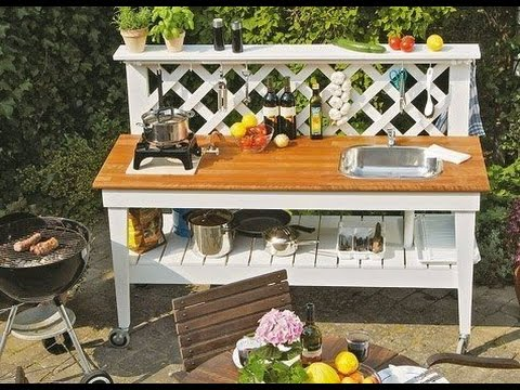 Outdoor Küche Bauen Holz : Outdoor küche selber bauen outdoor küche bauen wunderschöne