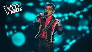 Yoryi canta Un Beso y Una Flor - Audiciones a ciegas | La Voz Kids Colombia 2018
