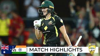 McGrath the finisher as Aussies win thriller | Second T20I | Australia v India 2021