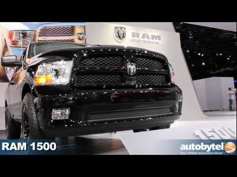 RAM 1500 Video at the 2012 Detroit Auto Show