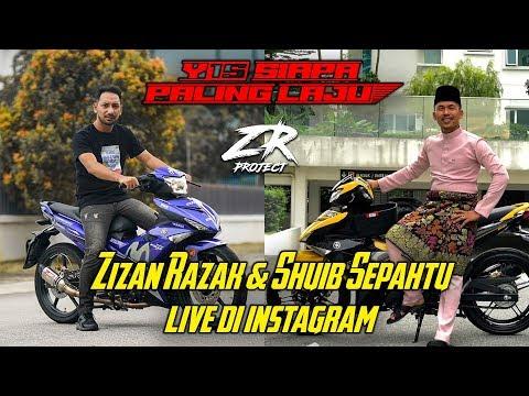 ZR PROJECT | Zizan Razak & Shuib Sepahtu Live di Instagram
