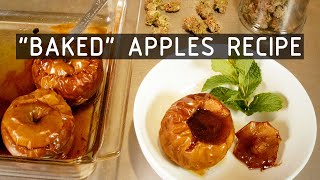 Cannabis Infused Baked Apples Recipe: Cannabasics #129 by RuffHouse Studios