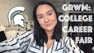 Get Ready With Me: College Career Fair | Michigan State University