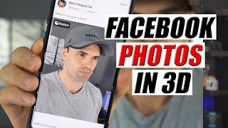 HOW to upload 3D photos on Facebook using ANDROID