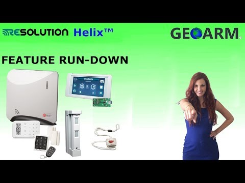 Helix Security System DIY Features